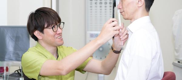 視能訓練士の1日